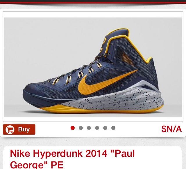 Paul George in the Nike zoom crusader   Shoes   Pinterest   Nike zoom, Nike  basketball and Nike shoe