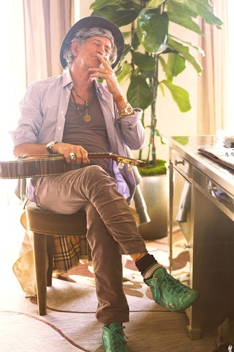 Keith Richards-This is the one celebrity that I have known my entire life......and am better off because of it! Love him like family!
