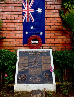 Malaysia - Ranau -  Kundasang War Memorial | Atlas Obscura - Over 1,000 Australian and British Prisoners of War perished in Sandakan, Malaysia during the three death marches from the Sandakan POW Camp to Ranau, Malaysia during World War II. A mere 6 men survived, all of them Australian soldiers who had escaped.