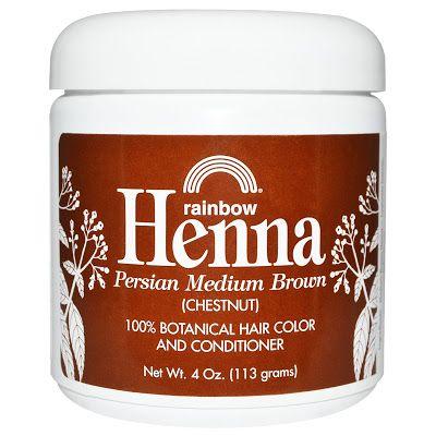 Rainbow Research Хна 100% растительная краска для волос и кондиционер персидский средне-коричневый (каштановый) 4 унции (113 г) #iherb #айхерб #здоровье #красота #купить #полезно #натурально