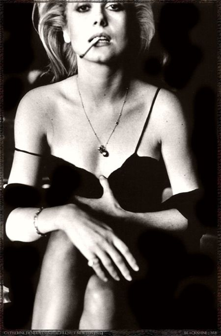 #Catherine Deneuve by Helmut Newton, VII