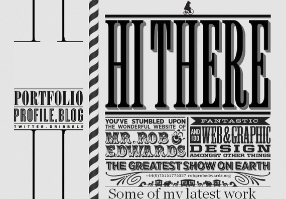 45 Creative Uses of Typography in Web Design