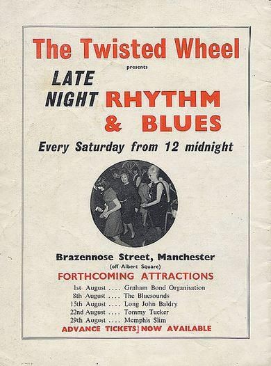 Twisted Wheel, Manchester ad featured on the back page of Roger Eagle's R&B Scene