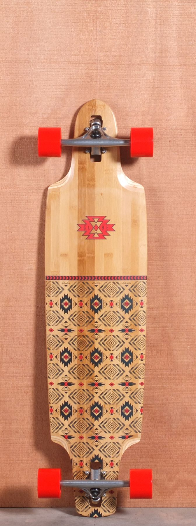 """Globe 40"""" Spearpoint Bamboo Longboard Complete"""