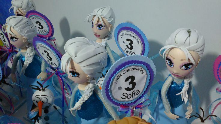 Elsa  de Frozen Sin duda uno de los temas favoritos es FROZEN la mágica historia de Disney