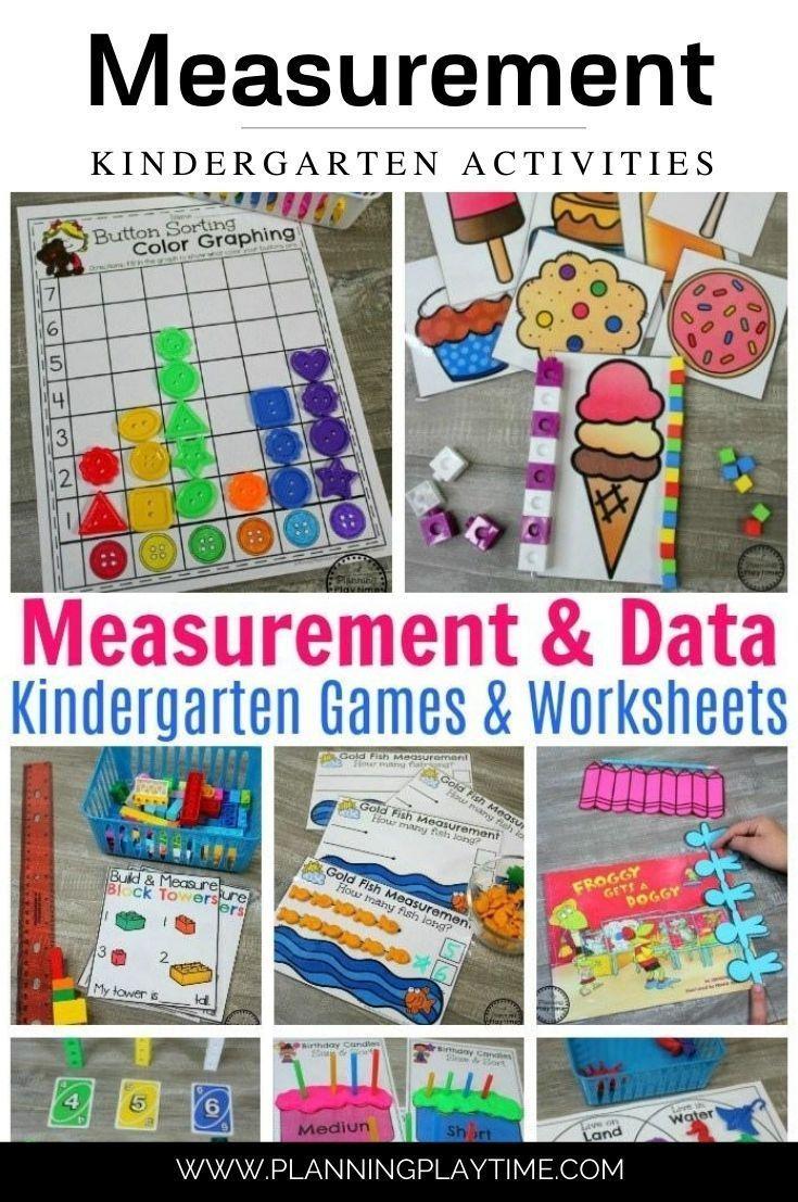 Measurement Worksheets Planning Playtime Kindergarten Activities Kindergarten Math Activities Kindergarten Measurement Activities [ 1107 x 735 Pixel ]