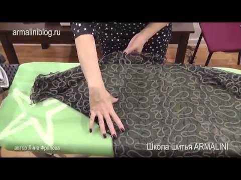 Крой по ткани! Легкое и простое платье за один вечер - YouTube