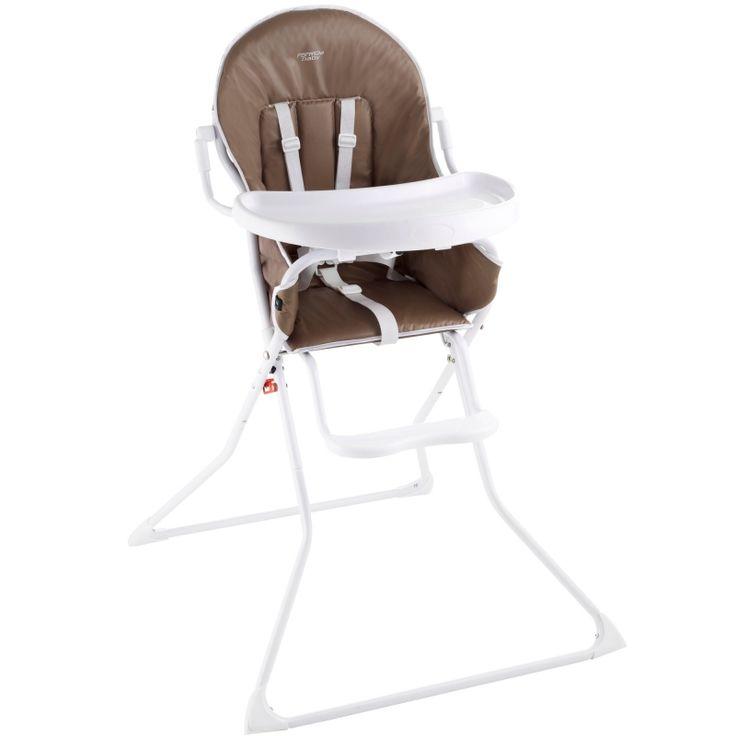 Chaise haute pliable et pratique.Grande tablette avec porte gobelet. Coloris bleu et vert. #Location Chaise haute #Trélazé(49800)_www.placedelaloc.com/puericulture/chaise-haute-siege-de-table