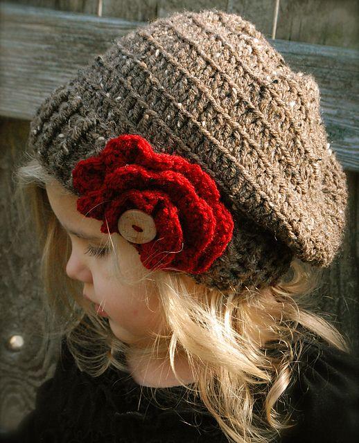 THE SCARLETT SLOUCHY ♥   thevelvetacorn.etsy.comPatternth Scarlett, Slouchy Hat, Crochet Children, Pattern 550, Crochet Patternth, Crochet Patterns, Slouchy Toddlers, Scarlett Slouchy, 5 50