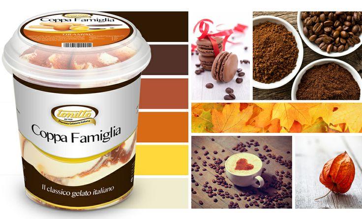 """""""Coppa Famiglia"""" gusto Tiramisù - il gelato nel pratico formato da 500gr - by TONITTO"""