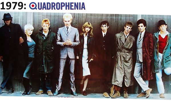 Taken from the movie Quadrophenia, this image demonstrates a huge range of the Mod fashion trend. I feel the body language of the actors hugely portrays their characters and the mod culture. They all look very laid back, as if they don't care what anyone thinks of them, and I feel this represents a group of mods very well. I chose this image as I feel it will hugely inspire my clothes chose as well as the mood portrayed in my portrait of a mod.