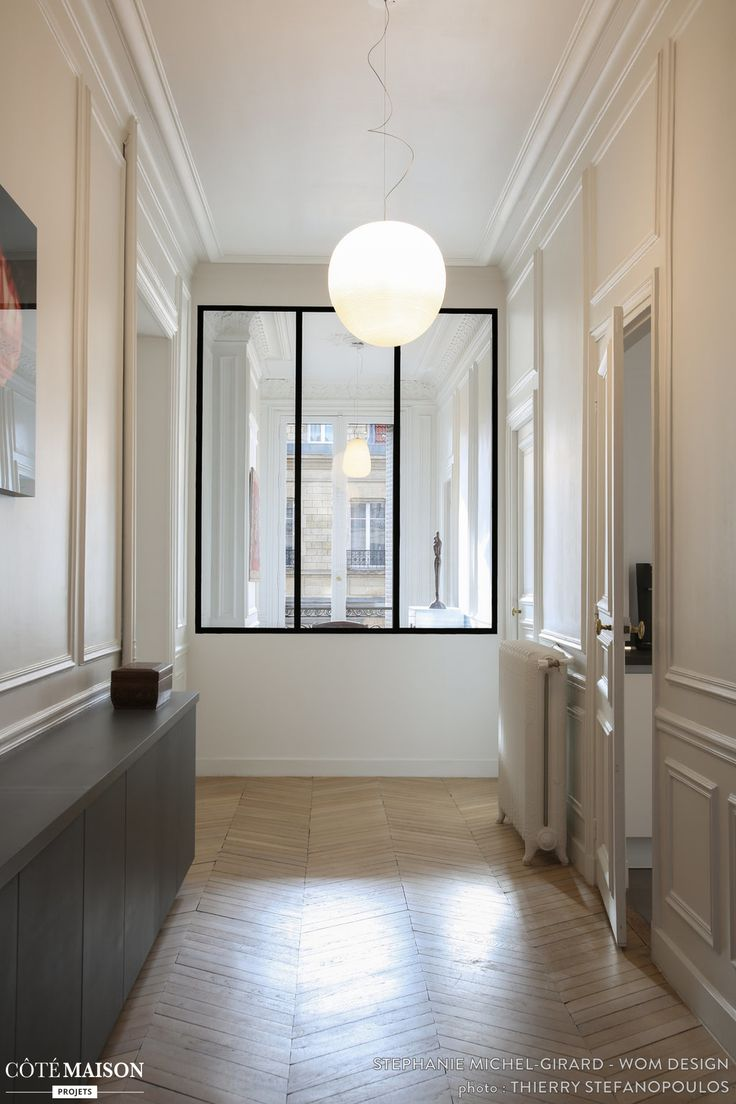 Rénovation et décoration d'un appartement Haussmanien de 200 m2, Paris, WOM - Stéphanie Michel-Girard - architecte d'intérieur