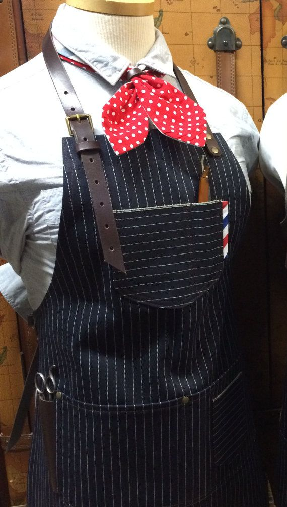 female barber apron petite size by sartorandvillain on Etsy