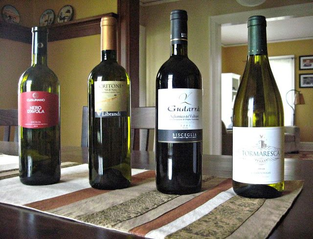 Wines of Puglia, Calabria, Basilicata, Sicilia