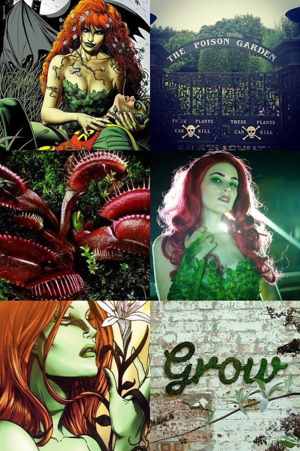 DC Aesthetics: Poison Ivy