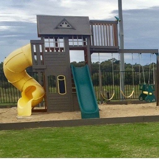 A Unique Take On Our Skyline Climbing Frame Painted In