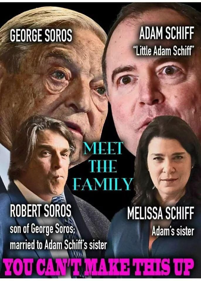 And Chelsea Clinton is married to George Soros nephew. This is disturbing!