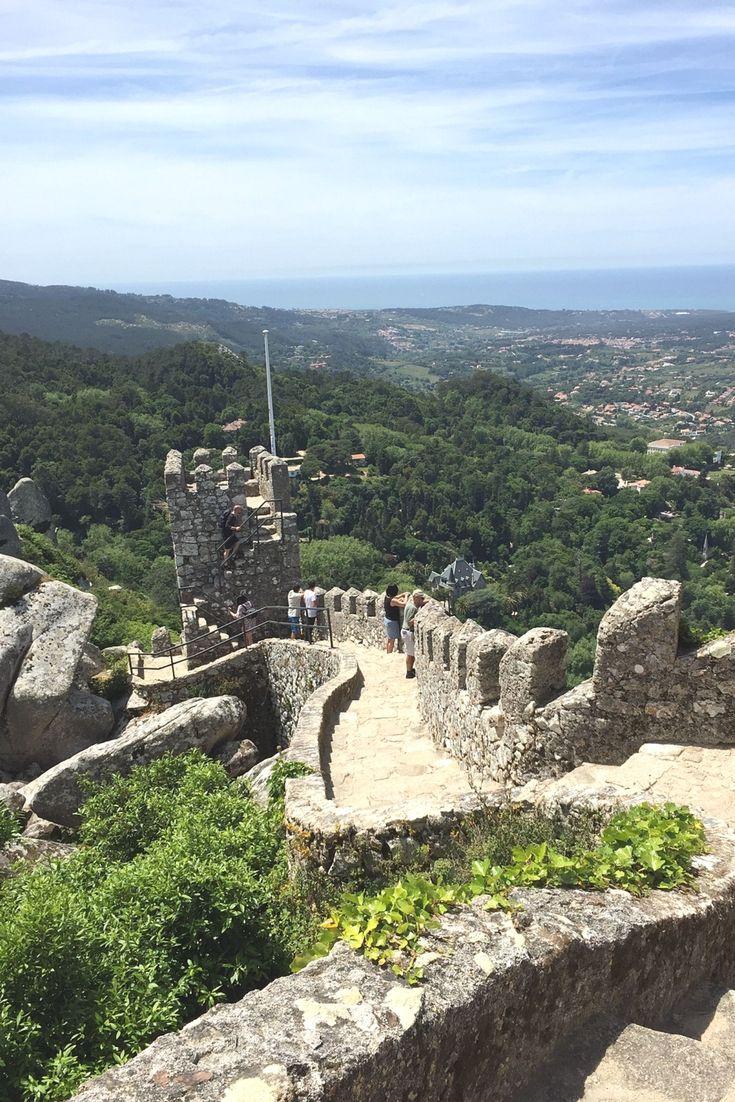 The Moorish Castle in Sintra just outside of Lisbon - so beautiful!