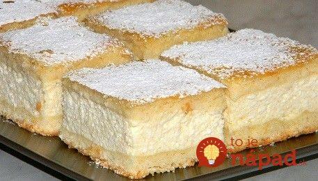 Babičkin božský smotanový koláč: Úplne jednoduchý a neskutočne jemný!