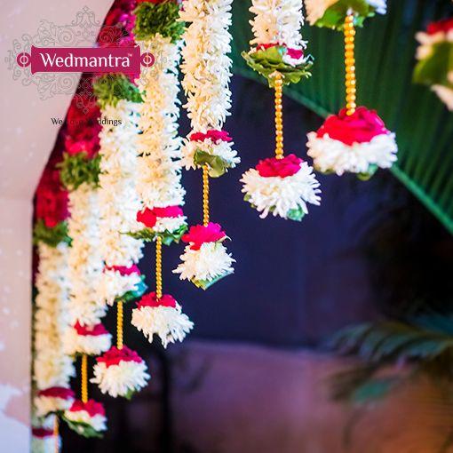 Flowers bring the ultimate wedding feel. #indianwedding #weddinginindia…