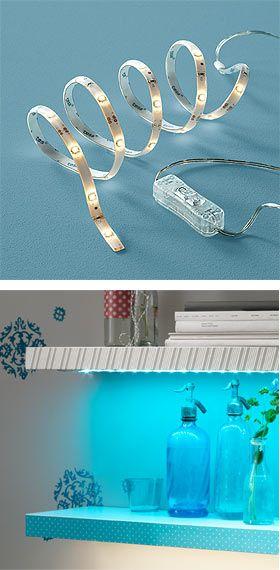 die besten 25 led lichtleiste ideen auf pinterest lichtleiste lichtleiste decke und led. Black Bedroom Furniture Sets. Home Design Ideas