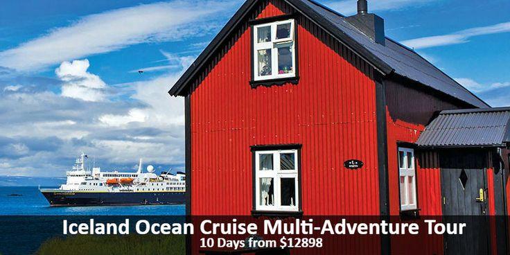 Iceland Ocean Cruise Multi-Adventure Tour - https://traveloni.com/vacation-deals/iceland-ocean-cruise-multi-adventure-tour/ #icelandvacation #gocrusing #adventuretravel