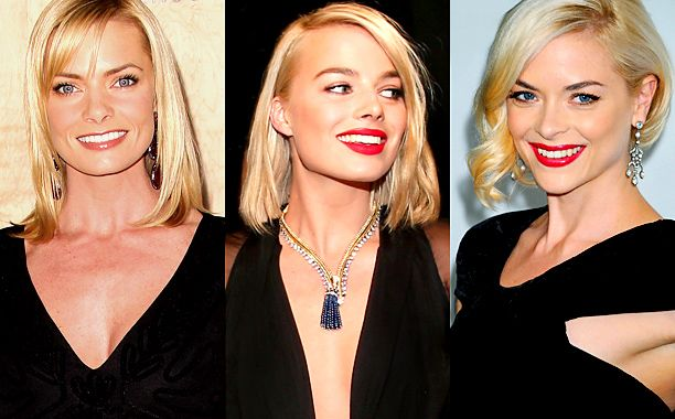 11 Celebrity Lookalikes: Ever Get These Pairs Mixed Up? | Jaime Pressly, Margot Robbie and Jaime King | EW.com