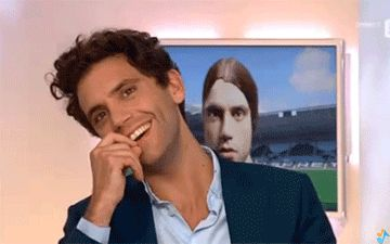 ANIMATED GIF Mika is just too Adorable! - C à Vous (1ère partie) 2012
