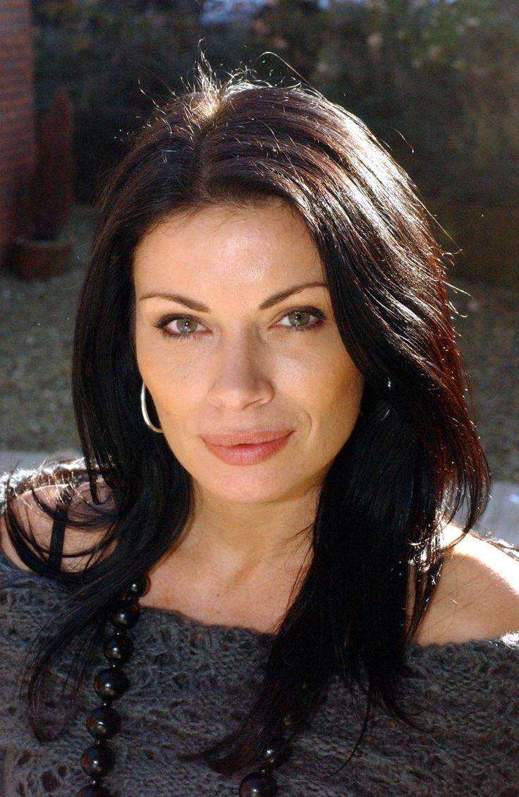 Alison King as Carla on Coronation Street