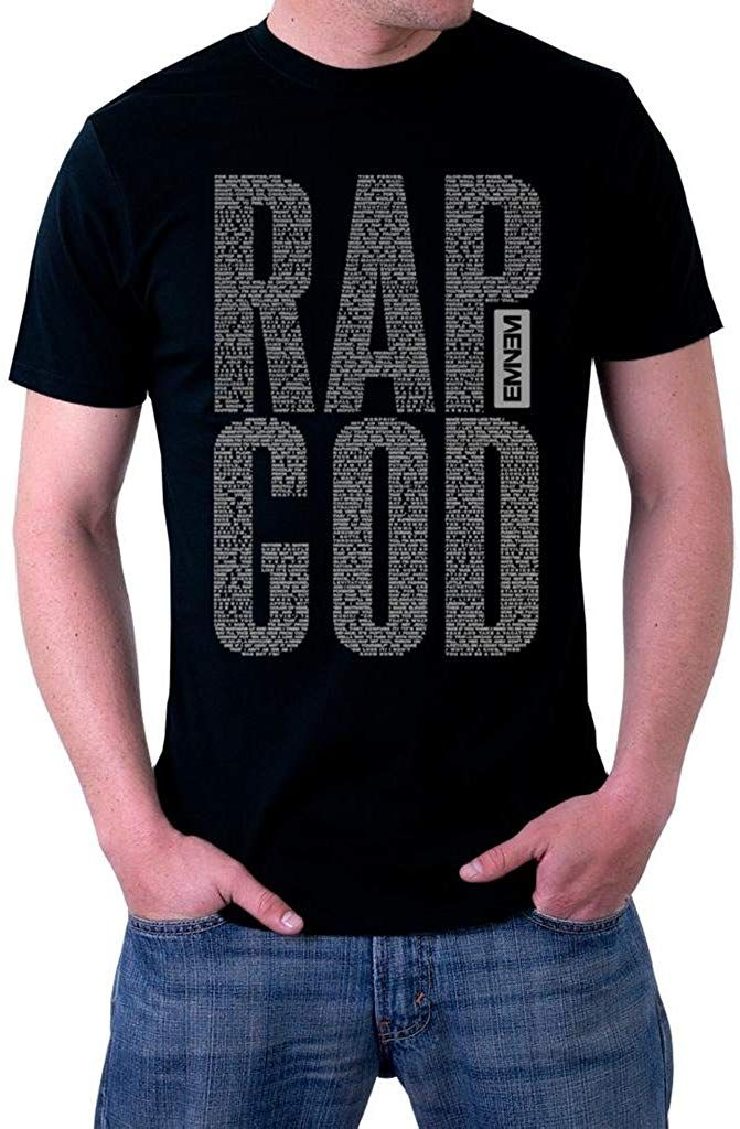 Firewei Eminem Rap God Mens Hooded Sweatshirt