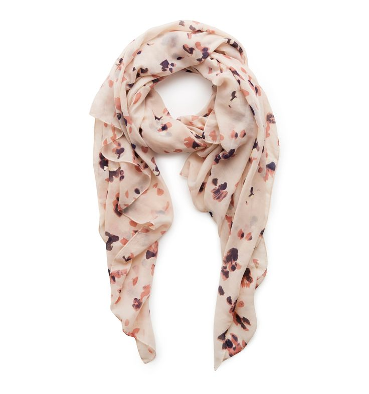 Lisa Leopard Print Scarf Natural - Womens Fashion | Forever New