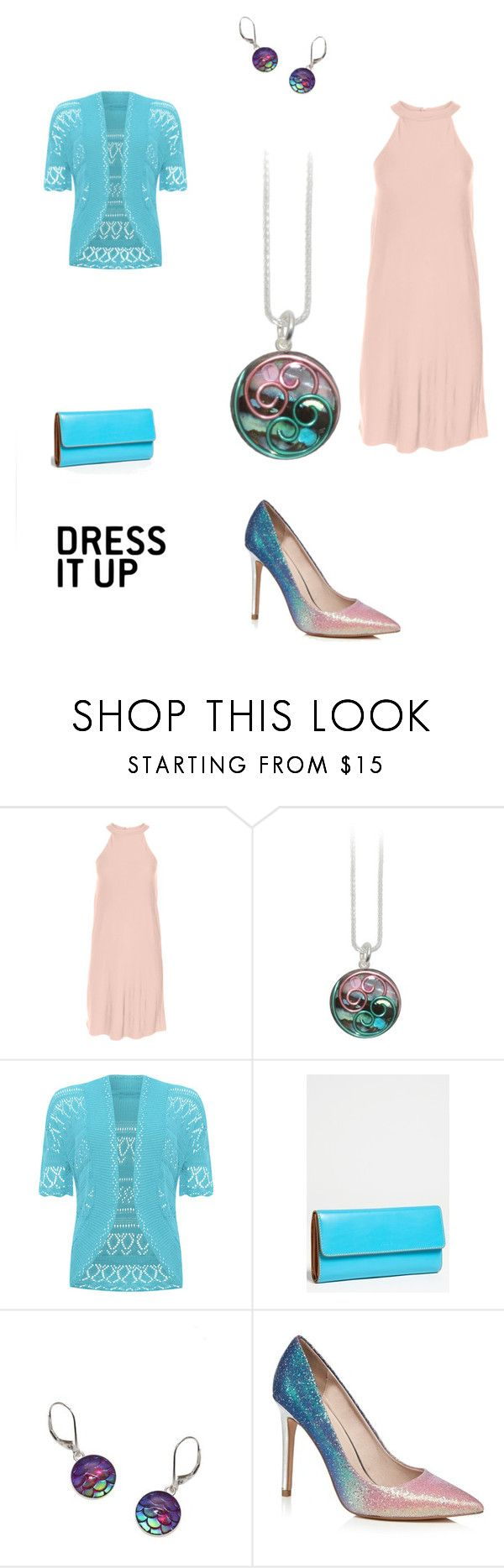 """""""Pink and Teal"""" by deb-c ❤ liked on Polyvore featuring Venus, WearAll, Lodis, Pink, jewelry, teal, avagoldworks and plus size dresses"""
