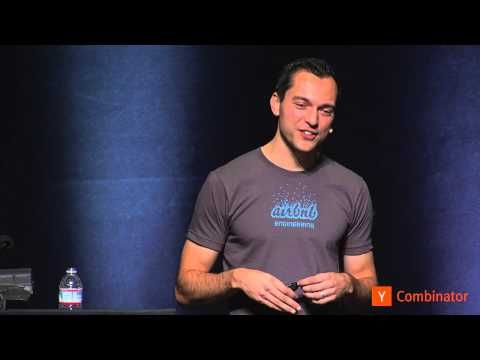 Nate Blecharczyk of AirBnB at Startup School 2013 | Intervu.us