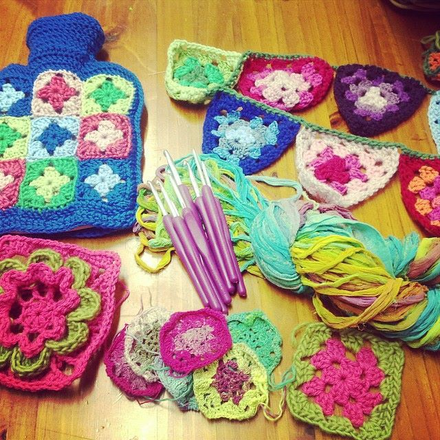 Crochet classes at Kim Bradley Creations.