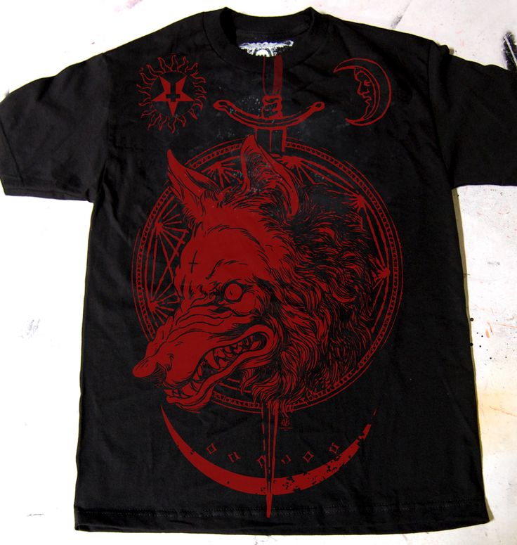 Image of Mens RedWolf T by Vance Kelly