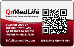 Qrmedlife. Protect your family now.