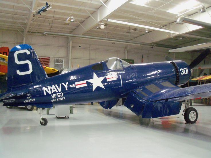 Vought Corsair at Palm Springs Air Museum