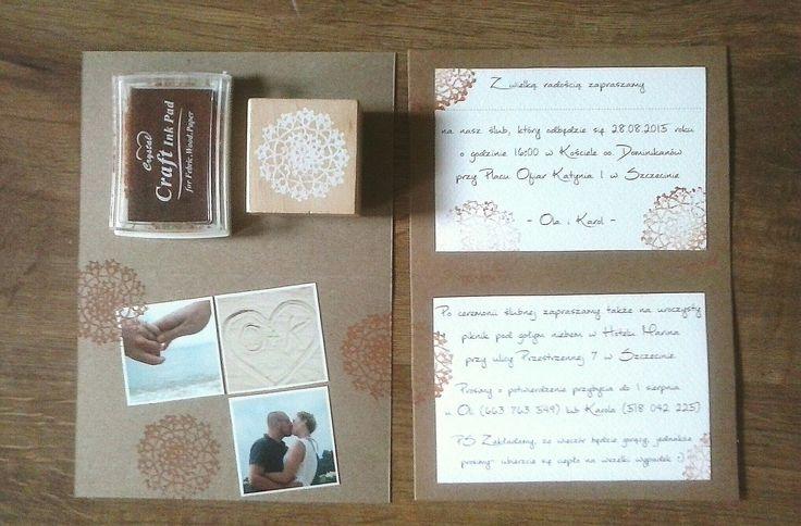Wedding DIU, personalized, retro invitations.