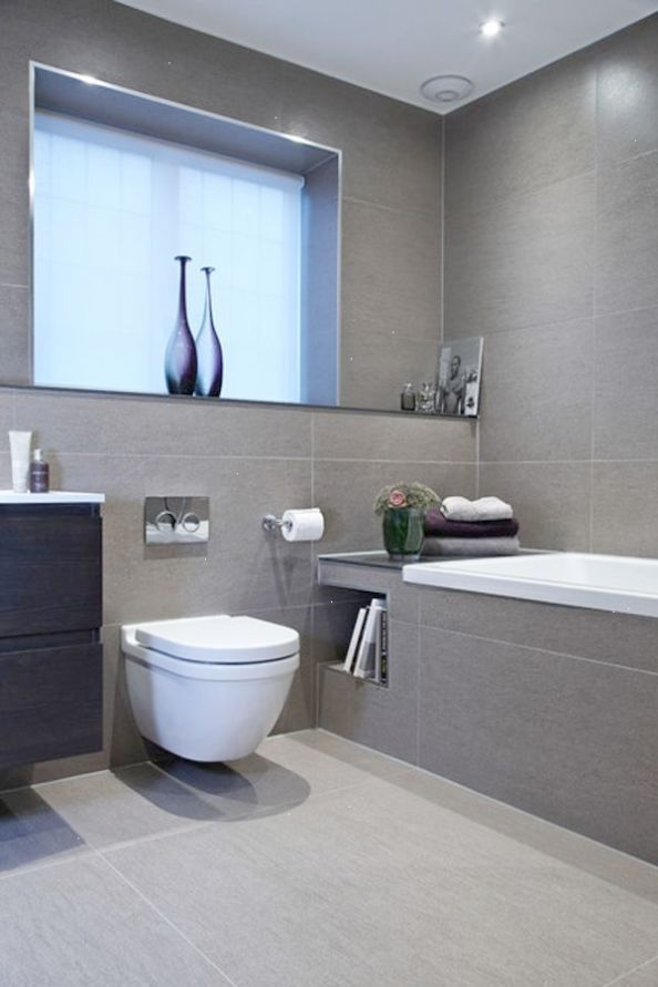 Modern Bathroom Blinds In 2020 Gray Bathroom Decor Small Bathroom Remodel Modern Bathroom