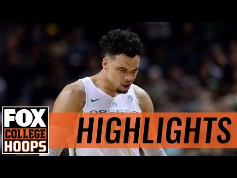(13) Oregon Ducks defeat Arizona State Sun Devils in Eugene | 2017 COLLEGE BASKETBALL HIGHLIGHTS