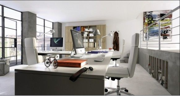 Visit us for more design ideas..: Office Ideas, Home Office Design, Office Designs, Home Office Furniture, Homes, Design Idea, Home Offices