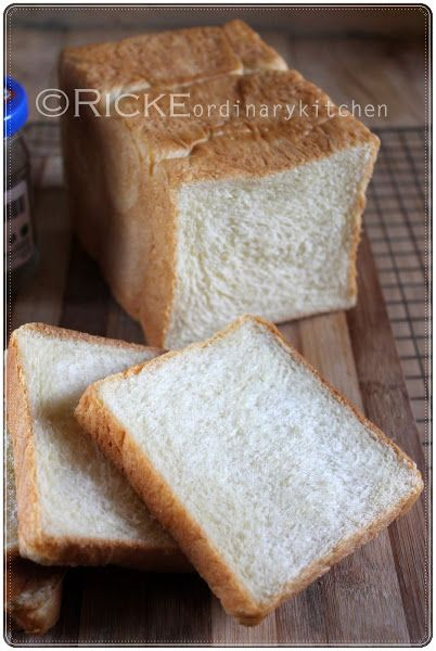 Just My Ordinary Kitchen...: ROTI TAWAR (LOAF BREAD/WHITE SANDWICH BREAD)