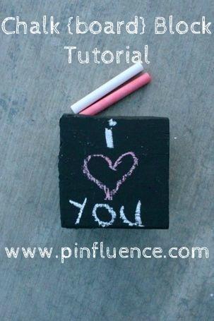 chalkboard block tutorial: Chalkboards Blocks, Kids Activities