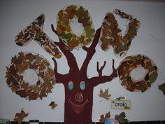 El amagüestu: ¿Cómo crear un mural de otoño?