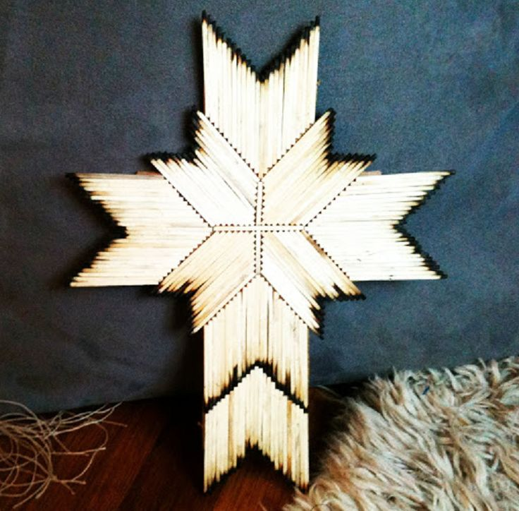 Image Result For Art And Craft Using Matchstick