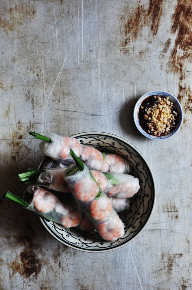How to Make Summer Rolls (Video) – by Uyen Luu