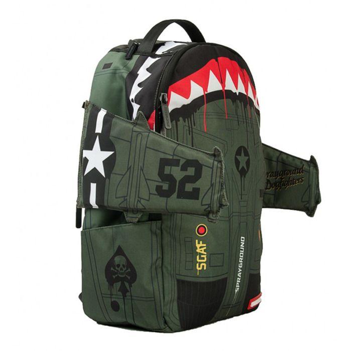 Sprayground plecak B52 Bomber Wing green