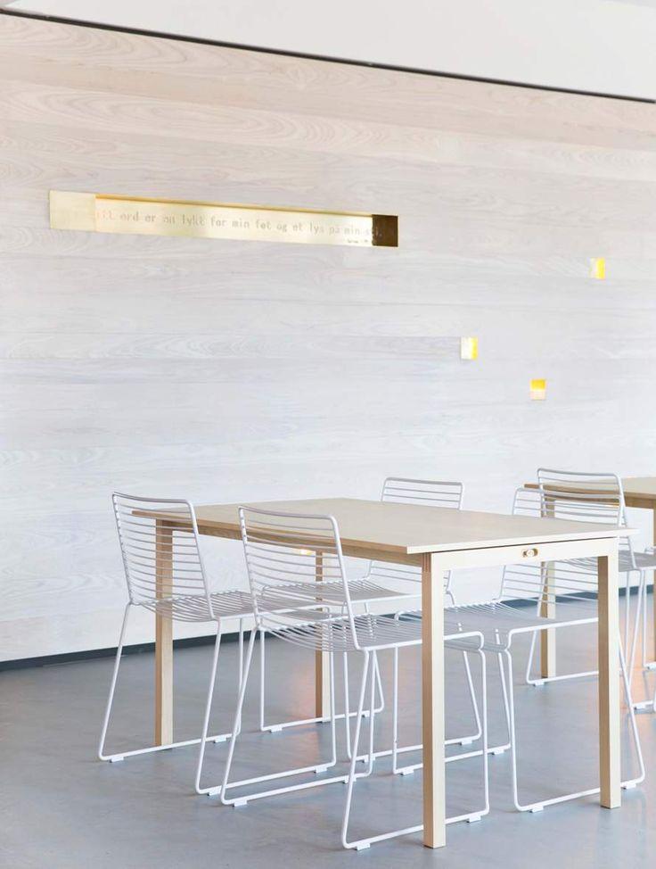 HAMRAN // Konferansebord i lys eik.