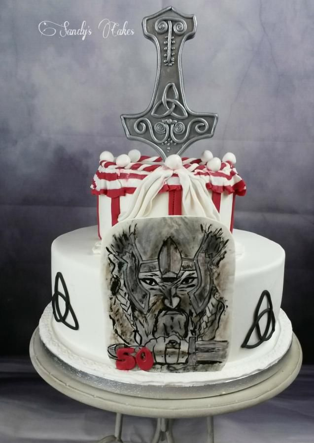 Cake Birthday Viking