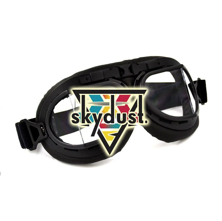 Just Black Aviator Pilot Rave Googles //Price: $27.99 & FREE Shipping //     #Skydust  #skydustravers  #letsdance   #ravefashion  #steampunk  #dancers  #funky   #amigos  #friends   #edmlife   #partypeople  #festival  #freespirit   #freepeople  #glasses  #crazyglasses  #sunglasses  #accessories  #ravers #outlet   #festival #skydustRaveGear  #burningmancostum  #ozora   #burningman   #chilloutplane   #worlddancefestival  #skydustonline
